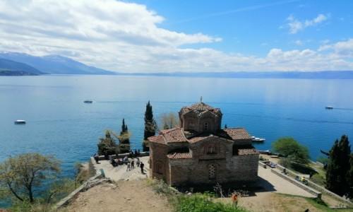 Zdjecie MACEDONIA / południowo-zachodnia Macedonia Północna / Ochryda / Cerkiew św. Jovana Kaneo