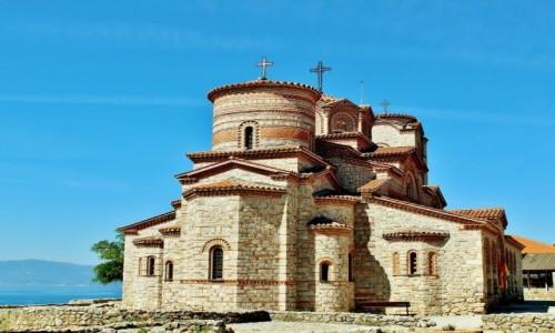 Zdjęcie MACEDONIA / płd.-zach.Macedonia Północna / Ochryda / Cerkiew św.Klemensa i św.Pantelejmona