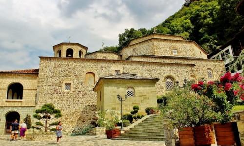MACEDONIA / park narodowy Mawrowo / Rostusza / Monastyr św.Jana Chrzciciela z 1020 roku