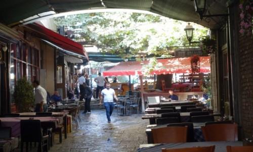 Zdjecie MACEDONIA / - / Skopje / Restauracyjki w Starej Czarsziji