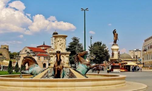 Zdjecie MACEDONIA / Skopje / Skopje / Plac Macedonii