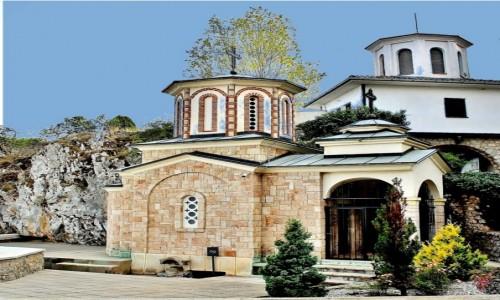 Zdjecie MACEDONIA / płd.-zach.Macedonia Północna / Kaliszta / Cerkiew św.Piotra i Pawła