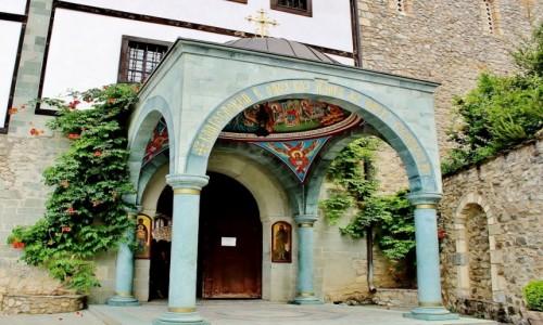 Zdjecie MACEDONIA / park narodowy Mawrowo / Rostusza / Monastyr św.Jana Chrzciciela z 1020 roku