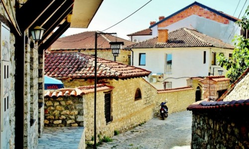 MACEDONIA / płd.-zach.Macedonia Północna / Ochryda / Wędrując uliczkami Ochrydy
