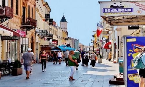 Zdjecie MACEDONIA / płd.-zach.Macedonia Północna / Bitola / Uliczka w Bitoli
