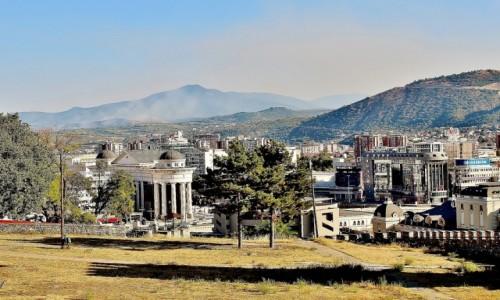 Zdjecie MACEDONIA / Skopje / Skopje / Panorama Skopje