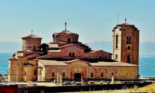 Zdjecie MACEDONIA / płd.-zach.Macedonia Północna / Ochryda / Cerkiew św.Klemensa i św.Pantelejmona