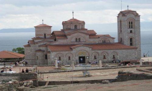 Zdjęcie MACEDONIA / Ohrid / Ohrid / Cerkiew św.Pantelejmona w Ohrid