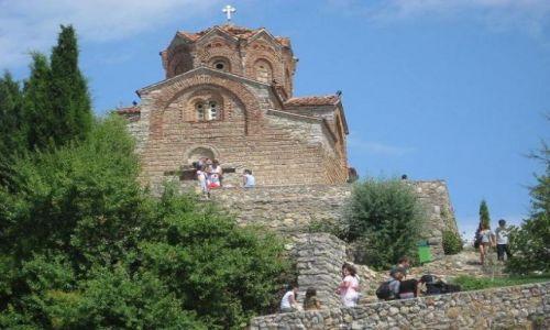 Zdjęcie MACEDONIA / brak / Ohrid / cerkiew św.Kaneo