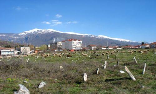 Zdjecie MACEDONIA / brak / Debar - widok na stary mizar / Macedonia - Debar