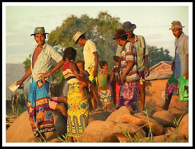 Zdjęcia: Miandrivazo, Toliara, Pasażerowie..., MADAGASKAR