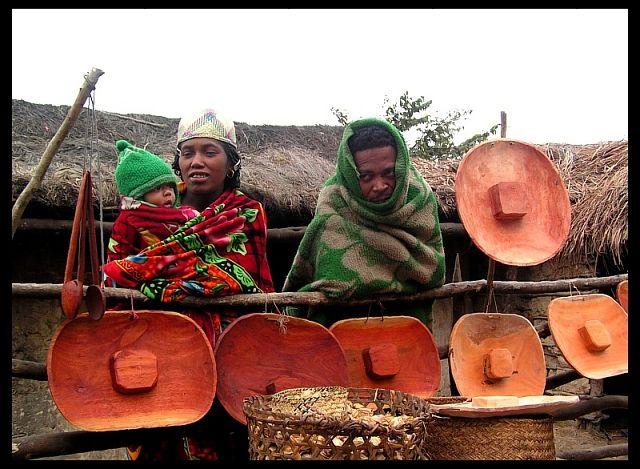 Zdjęcia: Alak-Ambohimaha, Fianarantsoa, Deszczowy dzień, MADAGASKAR
