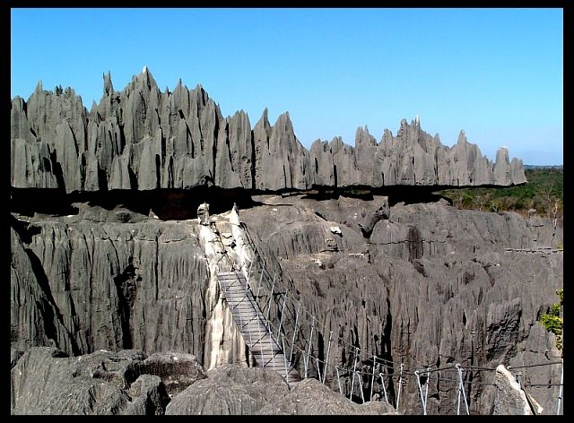 Zdjęcia: Tsingy of Bemaraha National Park, Mahajanga, Tsingy1, MADAGASKAR