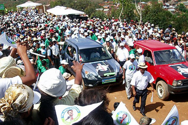 Zdjęcia: Madagaskar, kampania wyborcza, MADAGASKAR
