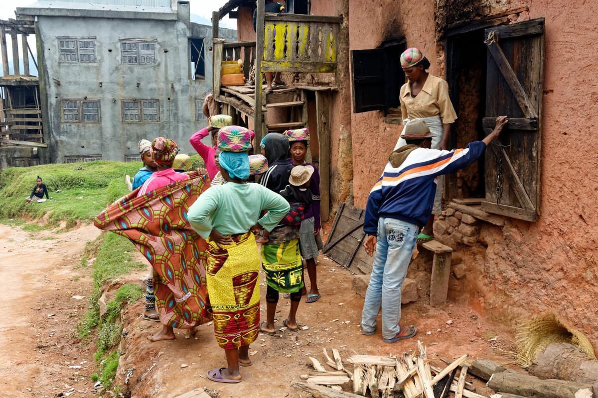 Zdjęcia: Antoetra, Antoetra, Kolorowe zamieszanie, MADAGASKAR