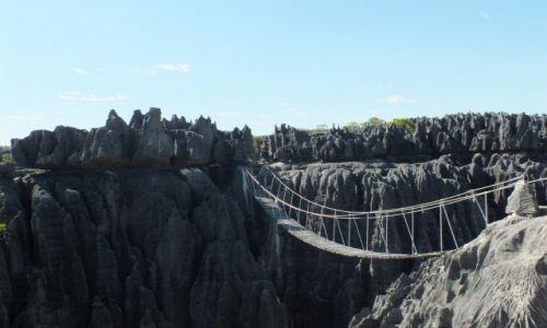 Zdjecie MADAGASKAR / - / PN Tsingy de Beremaha / Tsingy