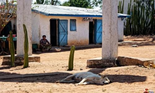 Zdjecie MADAGASKAR / Ranohira / okolice Ranohira / Posterunek Policji