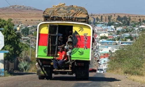 Zdjecie MADAGASKAR / Ranohira / okolice Ranohira / Transport