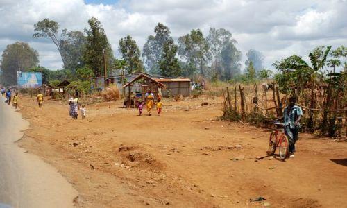 Zdjęcie MADAGASKAR / zachodni Madagaskar / okolice Morondawy / Ulice Madagaskaru