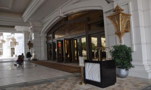 Zdjęcie MAKAO / Macau / Centrum / wejście do Casino Galaxy