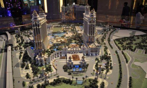 Zdjęcie MAKAO / Macau / Makieta kompleksu C / Casino Galaxy