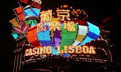 Zdjęcie MAKAO / Makao / kasyno / noc w Makao