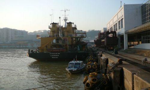 Zdjęcie MAKAO / Makao / Port / Port o zmierzchu