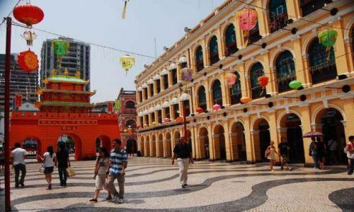 Zdjęcie MAKAO / - / Makao / Stare miasto
