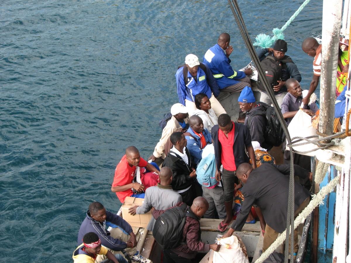 Zdjęcia: jezioro MALAWI, przesiadka 1, MALAWI