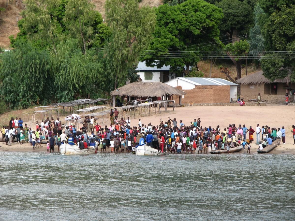 Zdjęcia: jezioro MALAWI, przesiadka 2, MALAWI