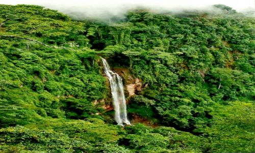 MALAWI / P�n. Malawi / Livingstonia / Wodospad Manchewe