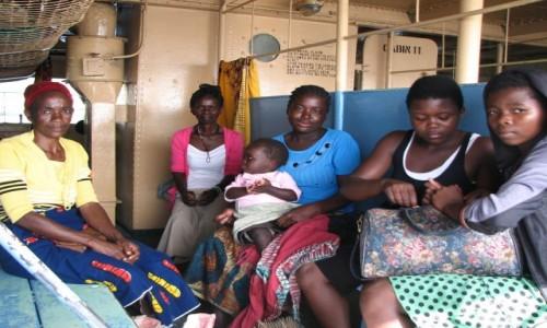 MALAWI / - / pokład ILALA / pasażerowie 3 kl