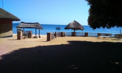 Zdjęcie MALAWI / Lilongwe / camp nad jeziorem Malawi / sielanka