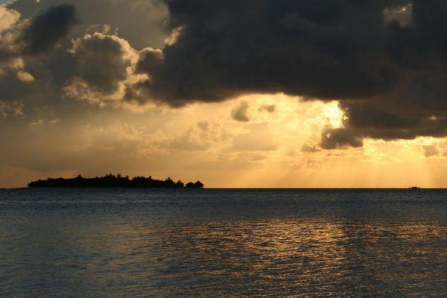 Zdjęcia: Malediwy, Wschód Słońca, MALEDIWY