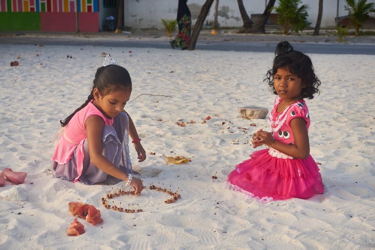 Zdjęcia: Hilmandhoo, Ocean Indyjski, Życie na wyspie, MALEDIWY
