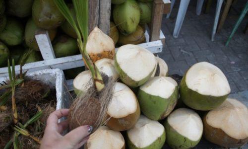 Zdjecie MALEDIWY / Atol Seenu / Hithadhoo / Dobry kokos nie