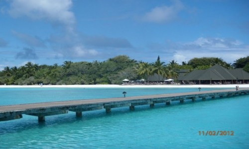 Zdjecie MALEDIWY / xxx / Malediwy / Niebiańska plaża
