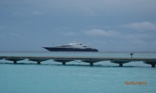 Zdjęcie MALEDIWY / xxx / Malediwy / Luksusowy Jacht