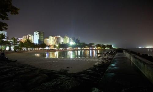 Zdjecie MALEDIWY / Ocean Indyjski / Male / Male nocą