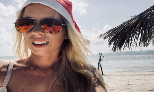 Zdjecie MALEDIWY / Kaafu Atol / Dhiffushi / Wesołych Świąt