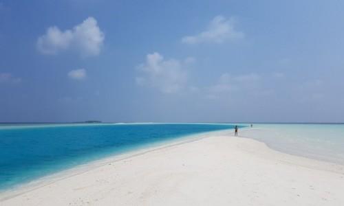 Zdjecie MALEDIWY / Malediwy / Malediwy / Błękit...