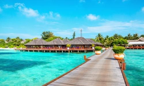 Zdjecie MALEDIWY / Malediwy /    / Malediwy wybrzeże