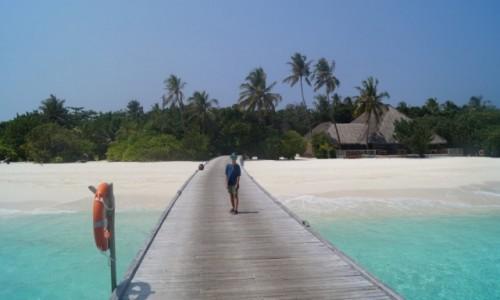 Zdjecie MALEDIWY / Atol Raa / Kudafushi / Droga na rajską wysepkę