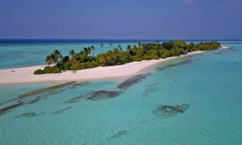 MALEDIWY / Atol Baa / Innafushi / Bezludna wyspa