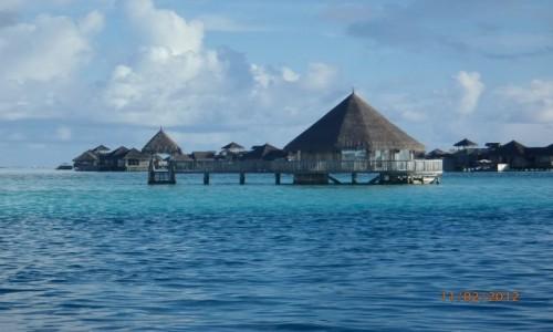MALEDIWY / Atol Północny Male / Hotel Paradise Island  / Domki w raju