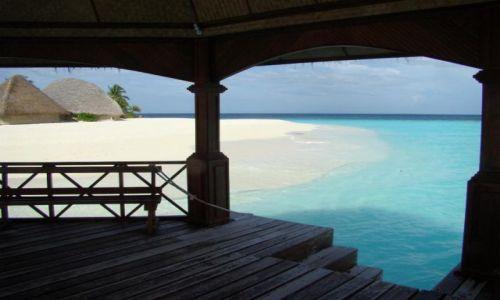 Zdjęcie MALEDIWY / Ari Atoll / Ari Atoll / mało uczęszczana plaża