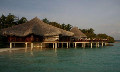 Zdjecie MALEDIWY / Pln. Male Atoll / Eriyadu / W takiej kawiarni nawet