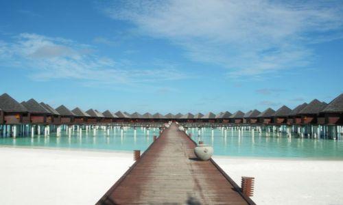 Zdjecie MALEDIWY / brak / Olhuveli Island / Domki na wodzie