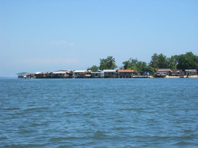 Zdjęcia: Ocean, Borneo, Wioska na palach, MALEZJA