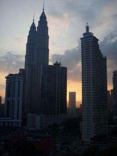 Zdjęcia: Kuala Lumpur, Kuala Lumpur, Wschód słońca, MALEZJA